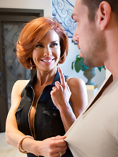Veronica Avluv & Johnny Castle in Seduced by a Cougar - Seduced by a Cougar