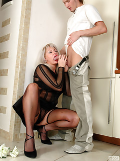 BoysLoveMatures :: Jessica&Rolf fucking older lady